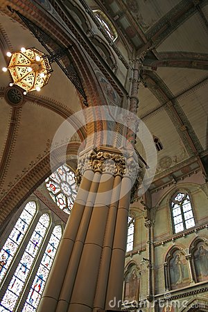 New-gothic cathedral