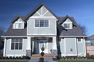 New Home House Canada Exterior