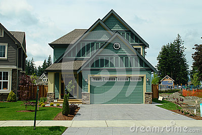 New Home House For Sale Green