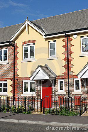 Free New Home In Terraced House Row Stock Photos - 269193