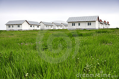 New homes in green field
