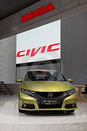 New Honda Civic at the IAA Editorial Photo
