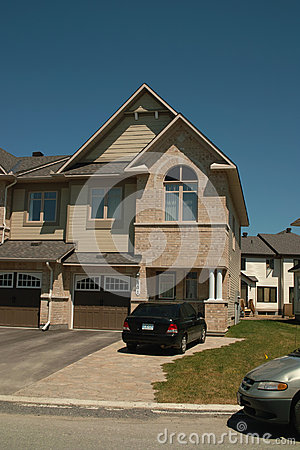 New House, Barrhaven Ontario Canada Editorial Photography