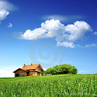 Free New House - Clean Environment Stock Image - 13642851