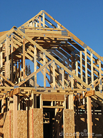 Free New House Construction Royalty Free Stock Image - 3243726