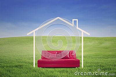 New house imagination