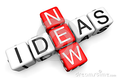 New Ideas concept