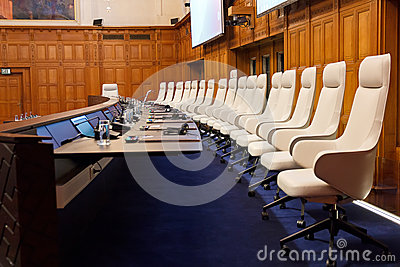 New International Court of Justice Courtroom