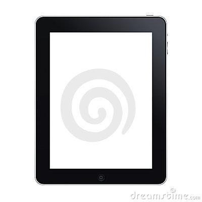 The new ipad Editorial Stock Photo