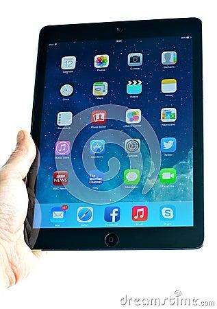 New iPad Editorial Photo
