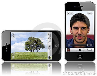 New iPhone 4 with 5-megapixel camera Editorial Photography