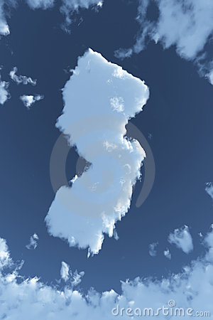 New Jersey in Clouds