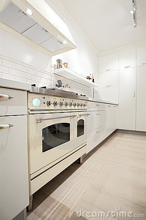 New kitchen in a modern home