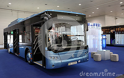 New LAZ bus Editorial Image