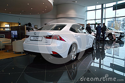 New Lexus IS 2013 Editorial Stock Photo