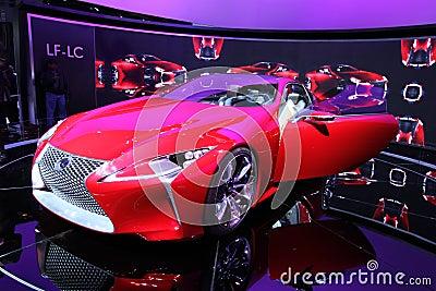 New Lexus LF-LC Editorial Photography