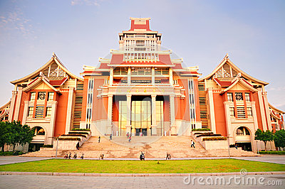 The new Library Building in Jimei University