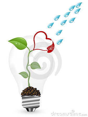 Free New Life In Bulb Royalty Free Stock Photo - 17558655
