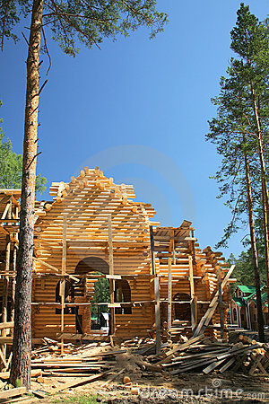 Free New Log House Stock Image - 7131651