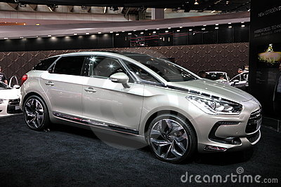 New Luxury Citroen DS5 Editorial Photo
