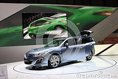 New Mazda 6 Wagon Editorial Photography