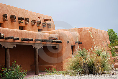 New Mexico Adobe House Royalty Free Stock Photography