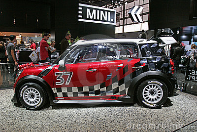 New Mini car 2010 Editorial Image
