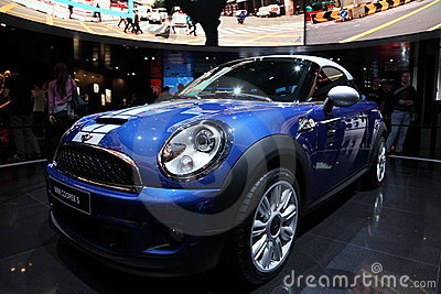 New Mini Cooper S at the IAA Editorial Photography