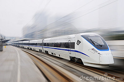 New model Chinese fast train