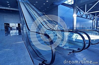 New modern business hall