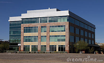 New Modern Corporate Office Building Exterior Royalty Free Stock Photos - Image: 17406758
