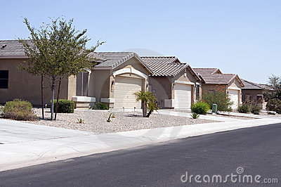 New Modern Desert Homes Neighborhood