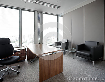 New modern office