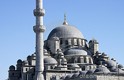 The New Mosque  (Yeni Camii) - RAW format