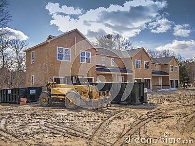 New multi family construction