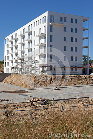 New multi-Storey Building Under Construction