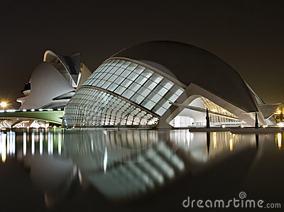 New Museums in Valencia Editorial Stock Image