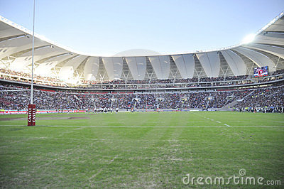New Nelson Mandela Bay Staduim Editorial Stock Photo