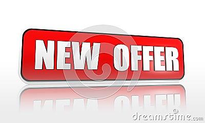 New offer banner