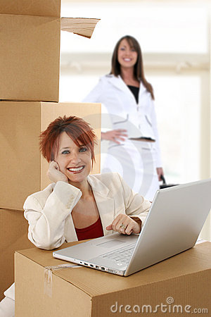 Free New Office Moving In Stock Images - 19528004