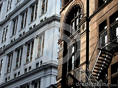 New and Old New York Buildings