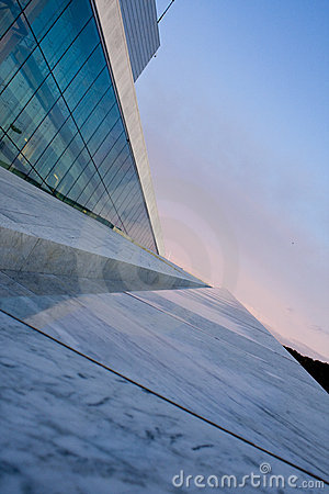 Free New Opera Design Angles To Sky Royalty Free Stock Image - 6624146