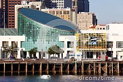 New Orleans - Aquarium of the Americas Editorial Stock Photo