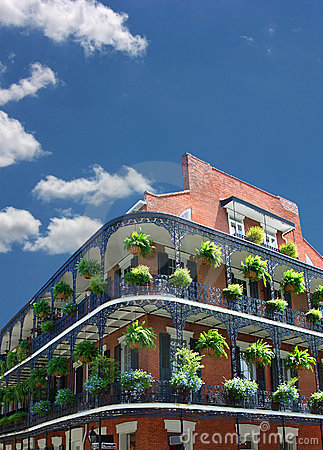 New Orleans Architecture Royalty Free Stock Image - Image: 6470476