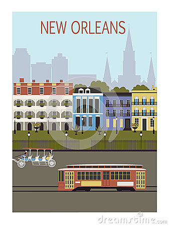 New Orleans city.