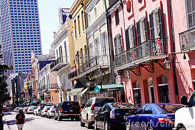 New Orleans Famous Royal Street Editorial Image