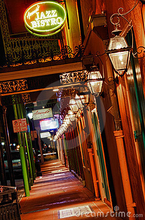 Free New Orleans French Quarter Arnaud S Jazz Bistro Stock Photography - 22965862