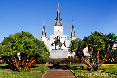 New Orleans Historic St Louis Cathedral Editorial Photo