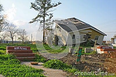 New Orleans Hurricane Damage