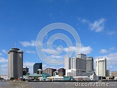 New Orleans Louisiana Downtown Skyline Cityscape